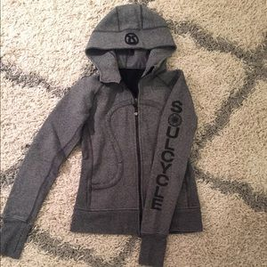 Soul Cycle x lululemon rare scuba hoodie